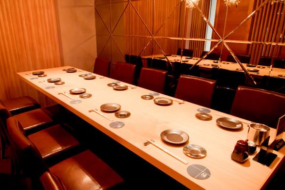 10名テーブル個室